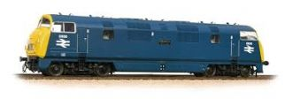 Bachmann 32-067A Class 43 Warship D836 Powerful BR Blue Full yellow ends